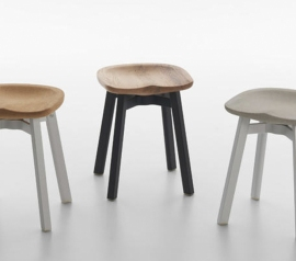 Японская студия «Nendo» представила обновленный дизайн стула с названием «SU stool»